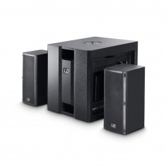 LD Systems Dave 8 Roadie - 350 Watt Portable Active PA System