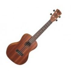 Laka Bass Ukulele - Mahogany