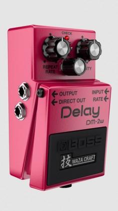 Boss DM-2W - Delay - with Waza Craft