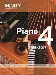 Trinity Piano Examination 2015-17 Grade 4 book