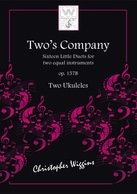 Two's Company op.157b for two Ukuleles C Wiggins