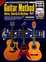 Progressive Guitar method, notes, chords and rhythms bk1 book/3dvd/cd