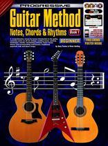 Progressive Guitar method, notes, chords and rhythms bk1 book/3dvd/cd