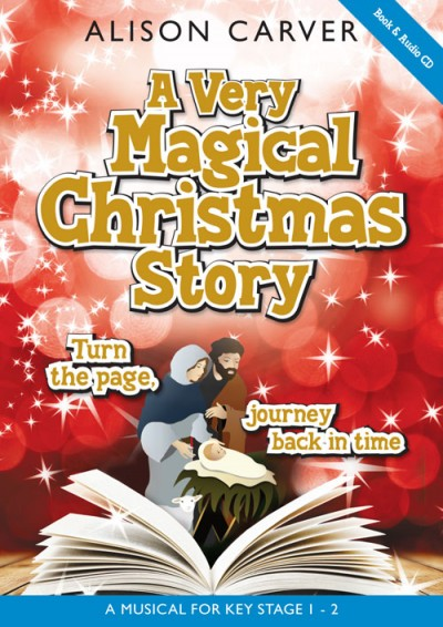 Very Magical Christmas Story Alison Carver book and cd