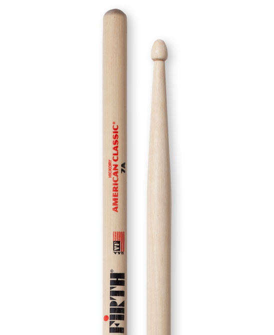 Drum Sticks Vic Firth American Classic Hickory 7A