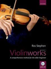 Violinworks Book 1 + CD Ros Stephen
