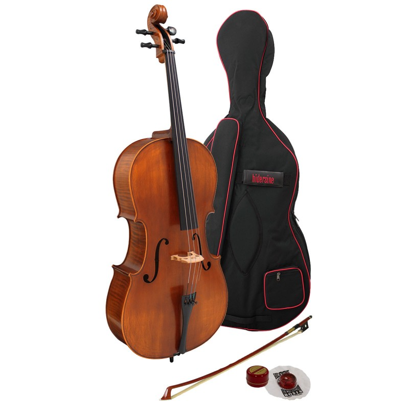 Vivente (Hidersine) Full-size Cello Outfit - Brand new and set up