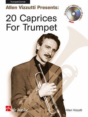 Vizzutti 20 Caprices for Trumpet Book & C~D