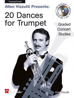 Vizzutti 20 Dances for Trumpet - Graded Concert Studies book & CD