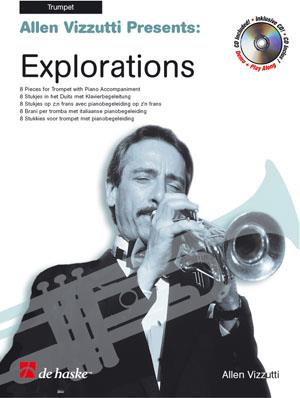 Vizzutti Explorations 8 pieces for Trumpet Book and CD