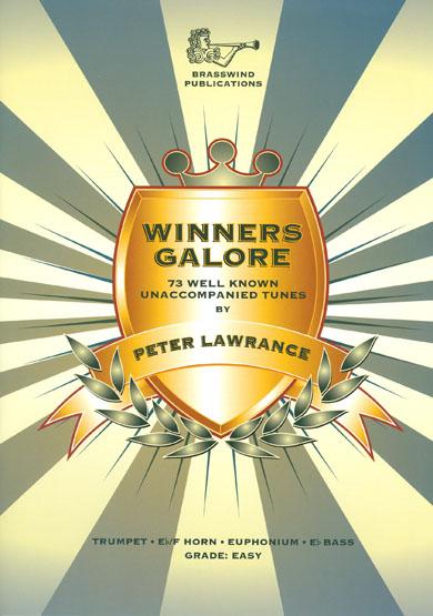 Winners Galore for Treble brass arr Peter Lawrance