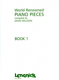 World Renowned Piano Pieces Book 1 Willison