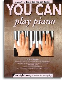You Can Play Piano Book & CD