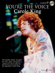 Youre the Voice Carole King book/cd