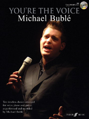 You're the Voice: Michael Bublé pvg book and cd
